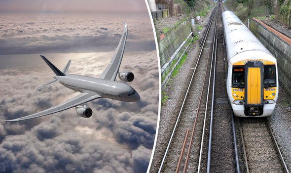 Train journey vs airways - railway restaurant